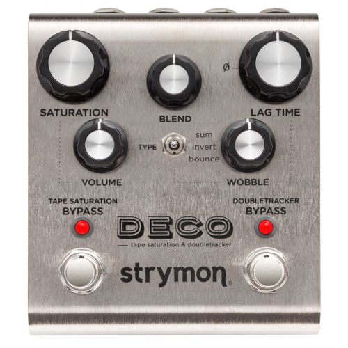 Strymon Deco Tape Saturation & Doubletracker 磁帶效果器