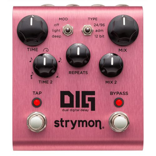 Strymon Dig Dual Digital Delay 數位延遲效果器
