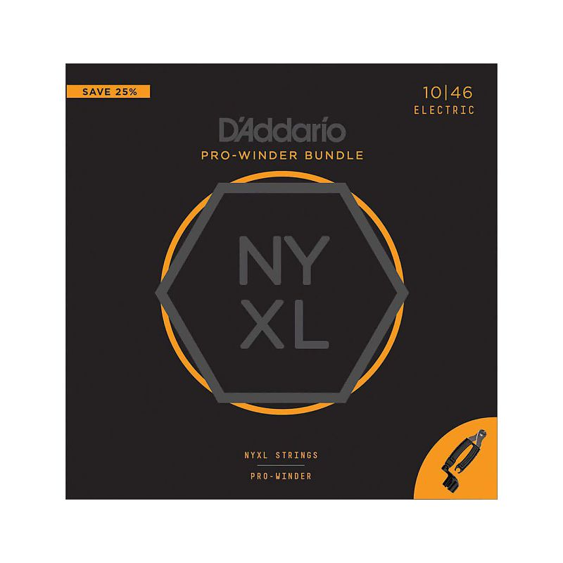 D'Addario NYXL 10-46+剪捲弦器套裝組