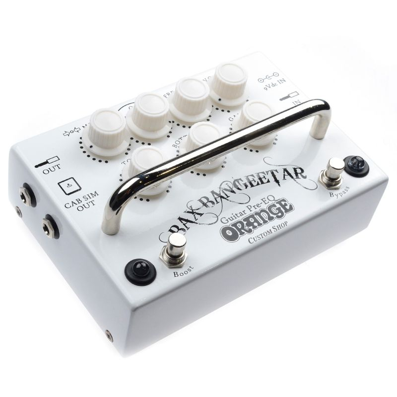 Orange Bax Bangeetar Guitar Pre-EQ (白)