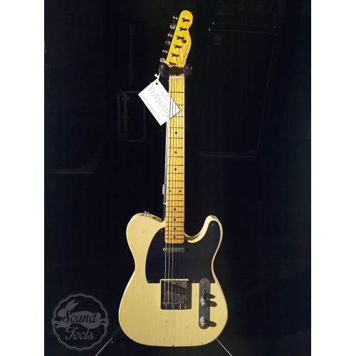 Nashguitars 客製仿舊吉他 T52 Cream / Light 輕度仿舊 / 楓木指板