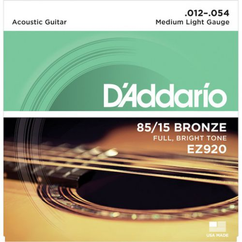 D'Addario EZ920 12-54 木吉他弦 85/15 Bronze