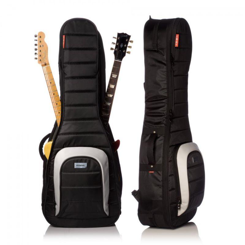 Mono M80 Dual 雙層電吉他琴袋|可放兩把電吉他 - 黑色 (M80-2G-BLK)