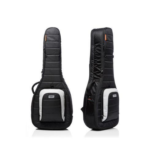 Mono M80 Classic Dual 雙層吉他琴袋|可放電吉他木吉他各一把 - 黑色 (M80-2A-BLK)