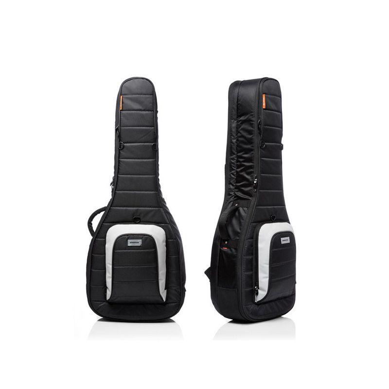 Mono M80 Dual 雙層吉他琴袋|可放電吉他木吉他各一把 - 黑色 (M80-2A-BLK)