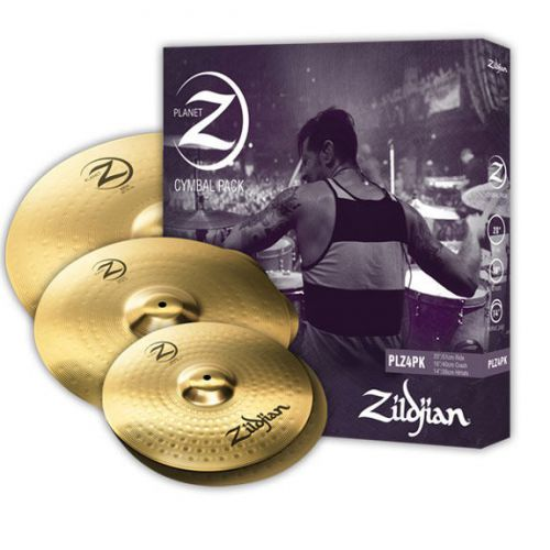 "Zildjian PLANET Z套鈸組 (14"" pr, 16"", 20"") (PLZ4PK)"