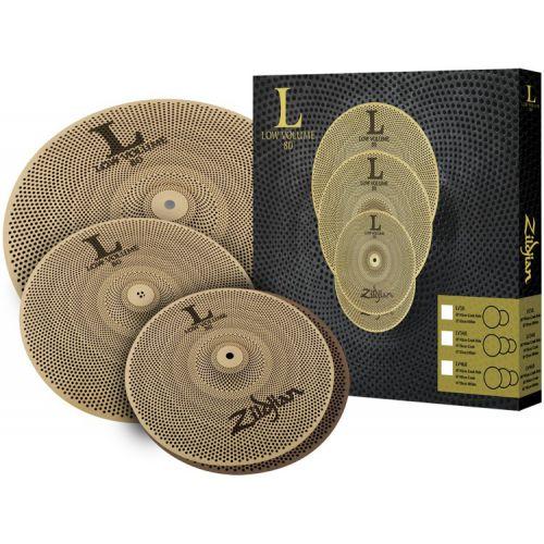 Zildjian L80靜音套鈸組 (13 pr 14 18) (LV348)