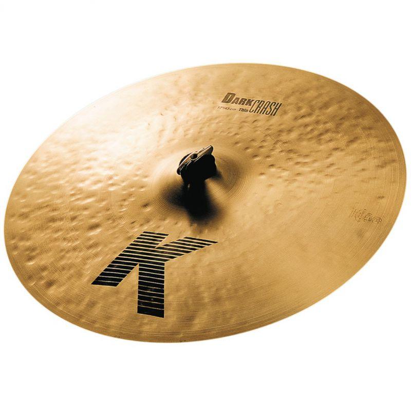 "Zildjian 17"" K DARK CRASH THIN (K0903)"