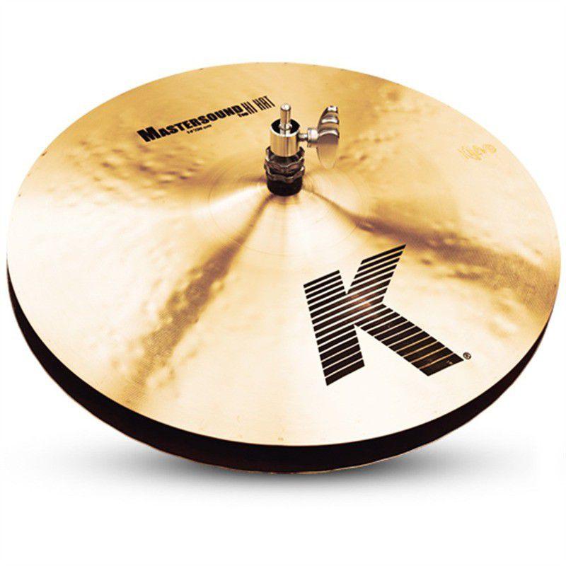 """Zildjian 14"""" K MASTERSOUND HI HAT PAIR (K0909)"""