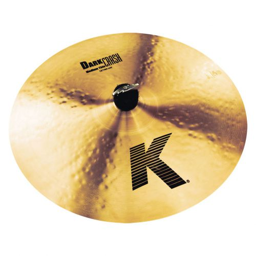 "Zildjian 16"" K DARK CRASH MED THIN (K0913)"