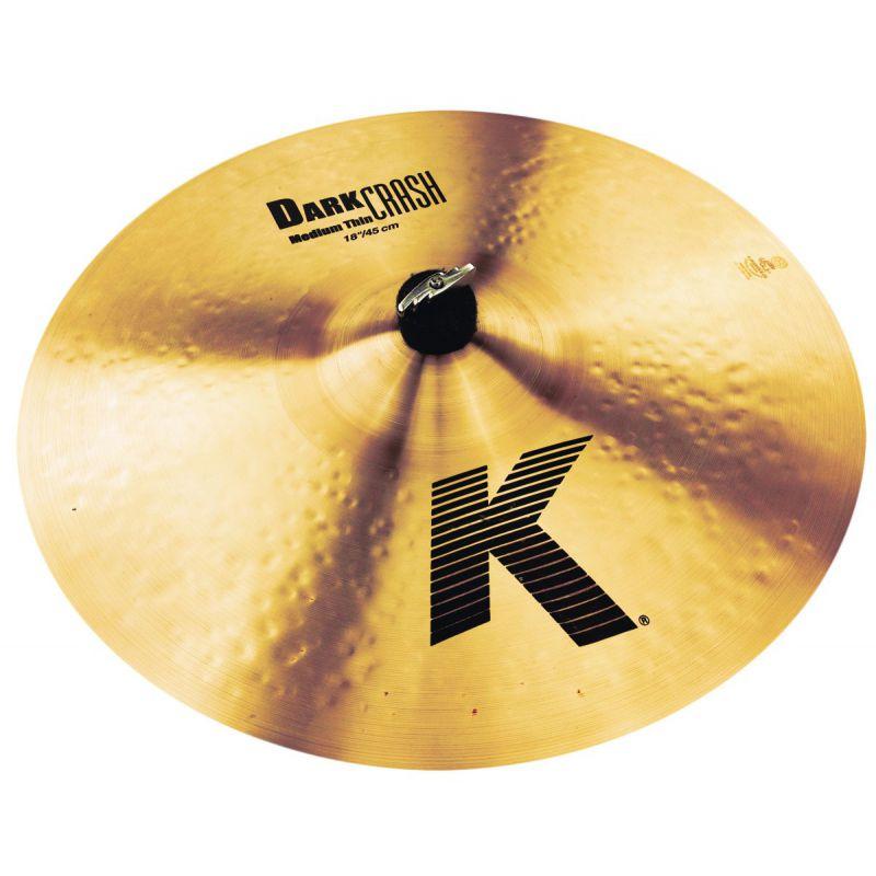 """Zildjian 18"""" K DARK CRASH MED THIN (K0915)"""