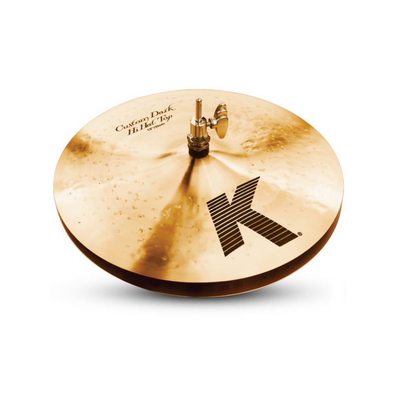 "Zildjian 13"" K CUSTOM DARK HI HAT PAIR (K0940)"