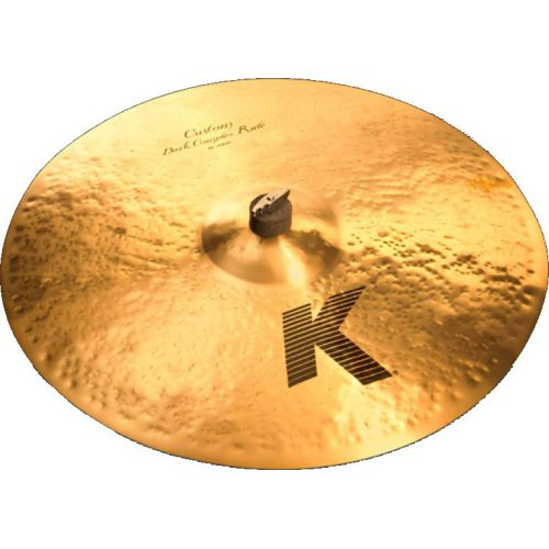 "Zildjian 21"" K CUSTOM DARK COMPLEX RIDE (K0963)"