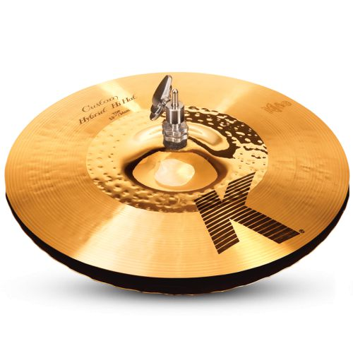 Zildjian 銅鈸 13 1/4 K Custom Hybrid Hi-Hat Pair (K1213)