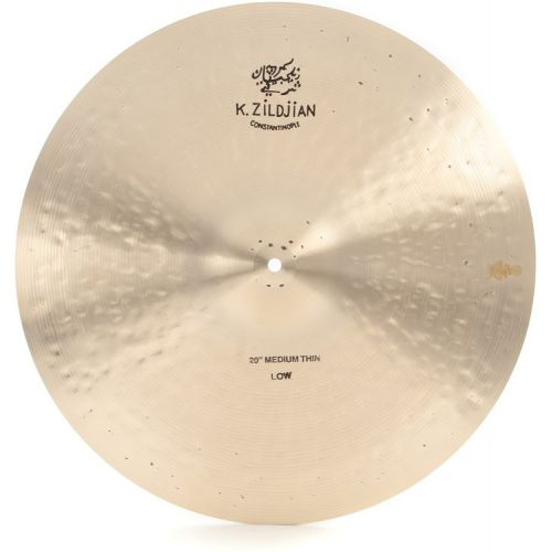 Zildjian 銅鈸 20 K Constantinople Medium Thin Ride Low (K1113)