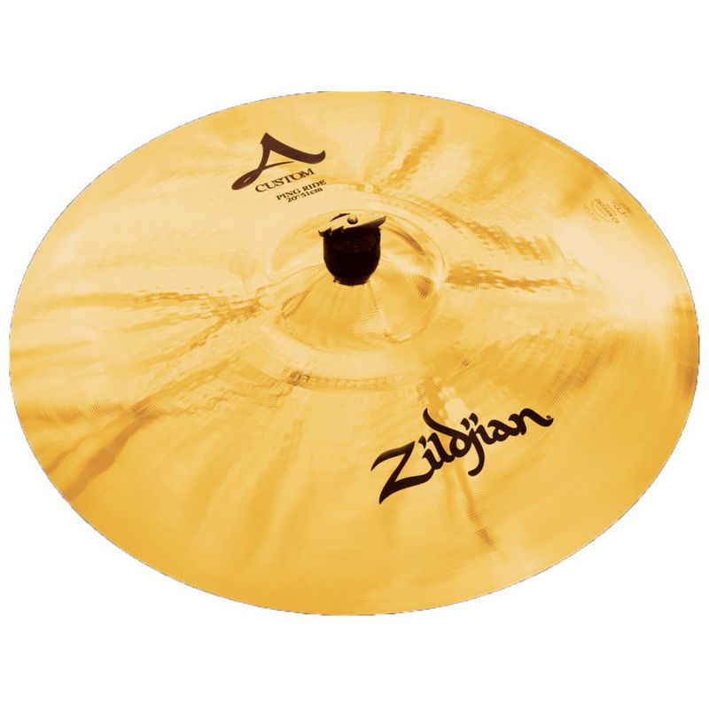"""Zildjian 20"""" A CUSTOM PING RIDE BRILL (A20522)"""