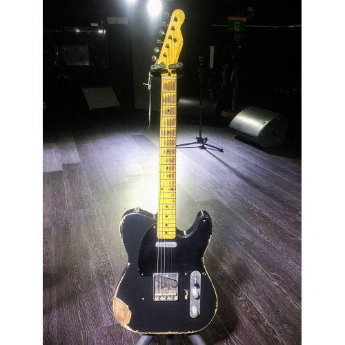 Nashguitars 客製仿舊吉他 T52 Black / Heavy 重度仿舊 / 楓木指板