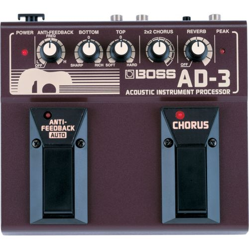 BOSS AD-3 Acoustic Instrument Processor 電木吉他效果器