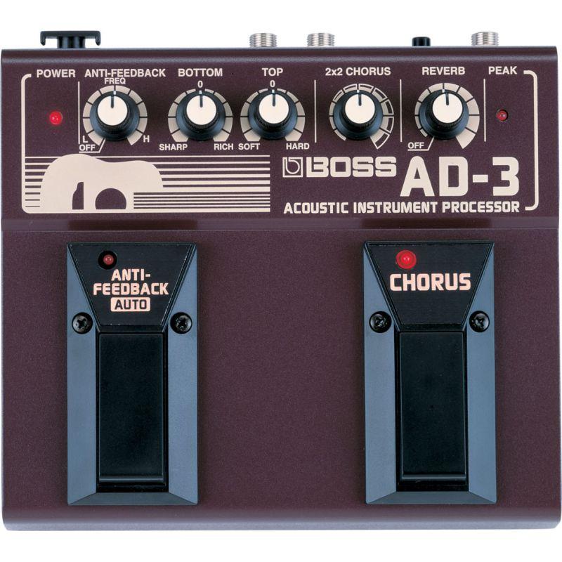 BOSS AD-3 Acoustic Instrument Processor 電木吉他效果器