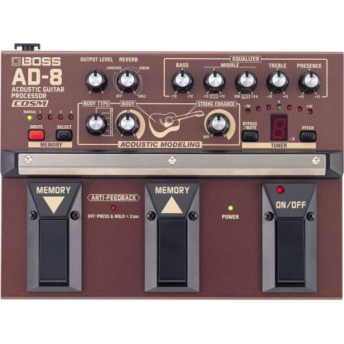 BOSS AD-8 Acoustic Guitar Processor 電木吉他效果器
