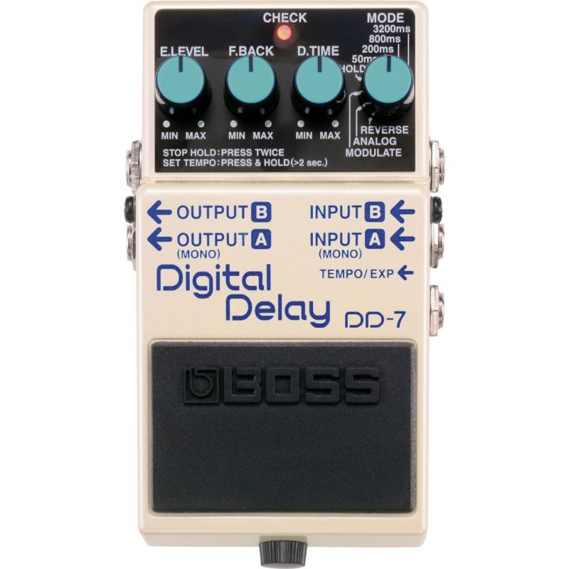 BOSS DD-7 Digital Delay效果器