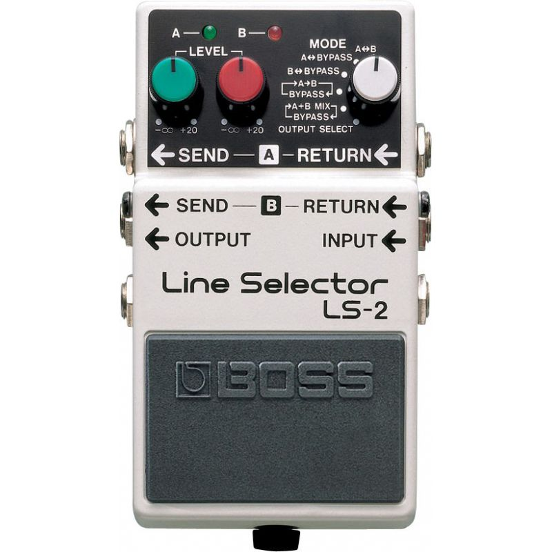 BOSS LS-2 Line Selector訊號選擇器