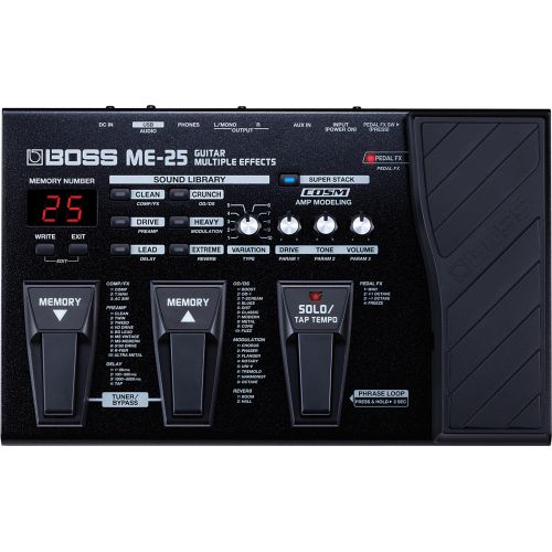 BOSS ME-25 Guitar Multiple Effects吉他綜合效果器