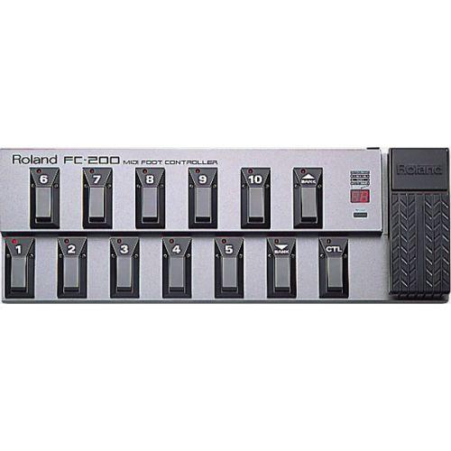 Roland FC-200 MIDI Foot Controller 控制踏板