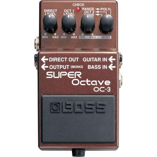 BOSS OC-3 Super Octave 八度音程效果器