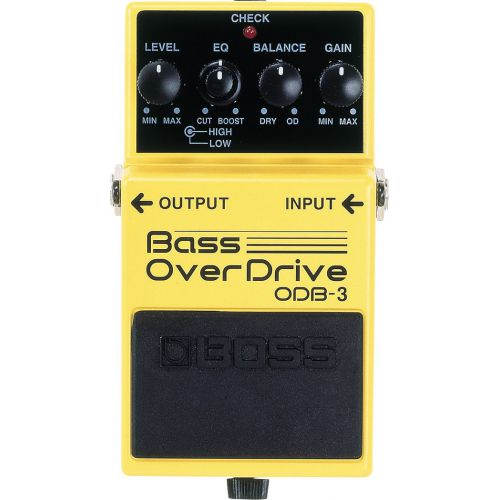 BOSS ODB-3 Bass OverDrive 貝斯破音效果器
