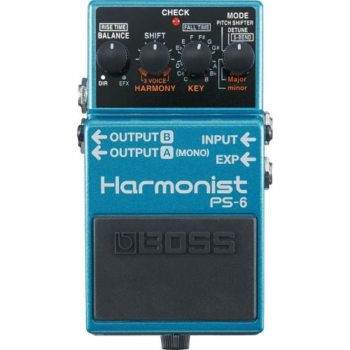 BOSS PS-6 Harmonist 移調效果器