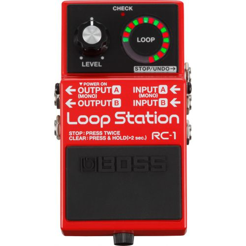 BOSS RC-1 Loop Station 循環樂句錄音工作站
