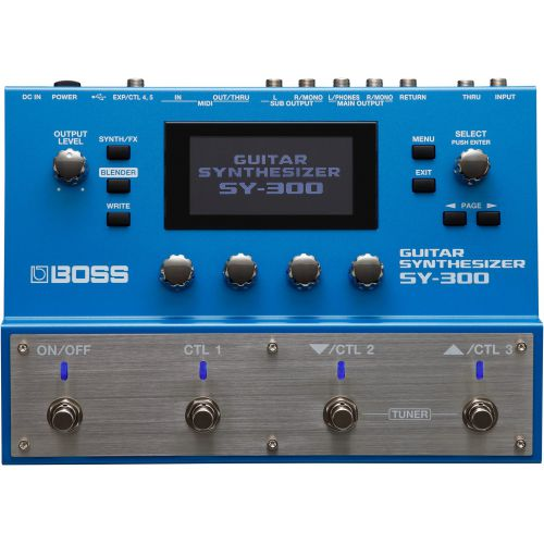 BOSS SY-300 Guitar Synthesizer 吉他合成器
