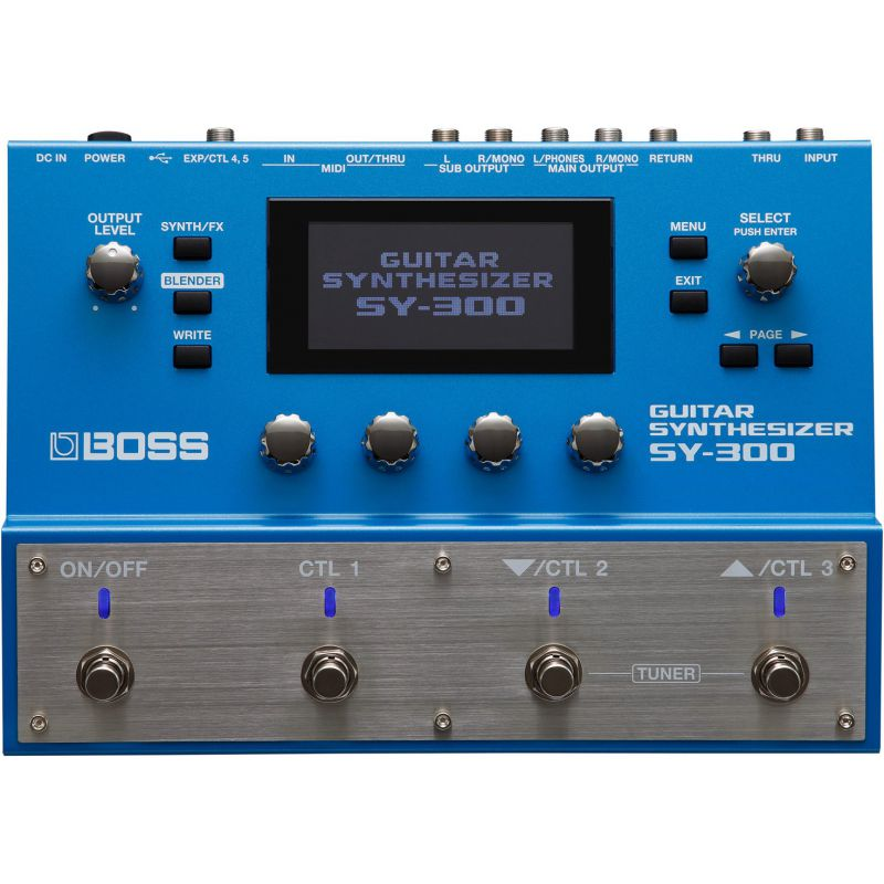 BOSS SY-300 Guitar Synthesizer吉他合成器