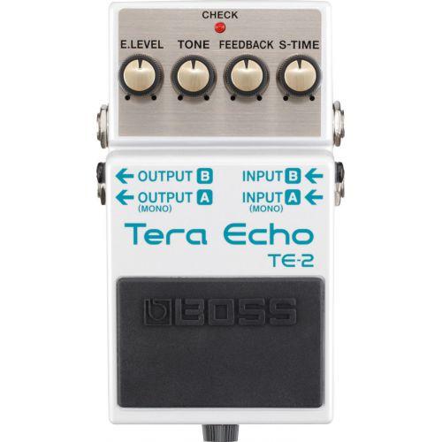 BOSS TE-2 Tera Echo 效果器
