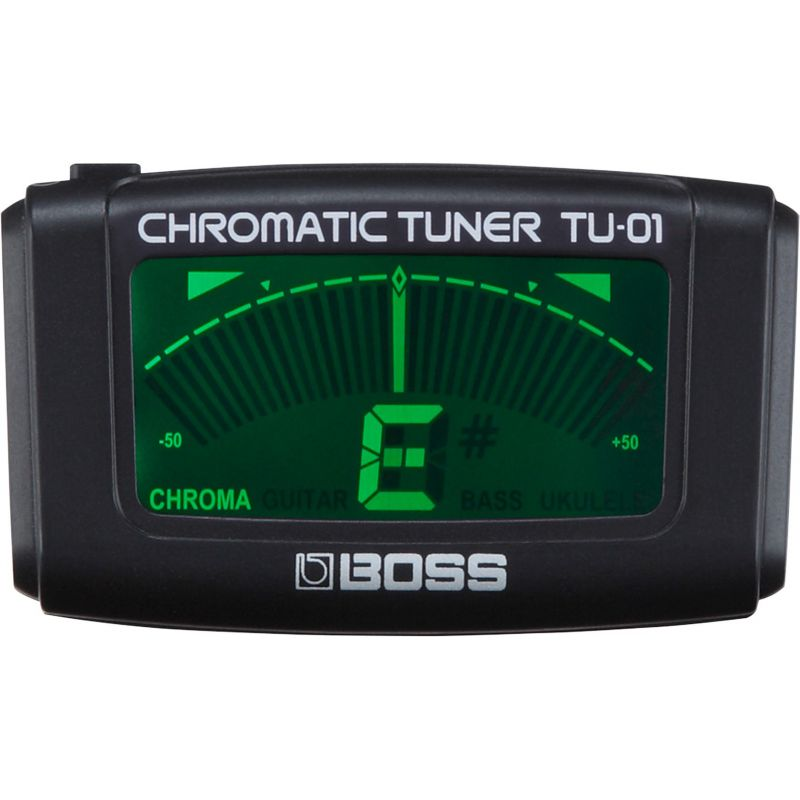 BOSS TU-01 夾式半音階調音器