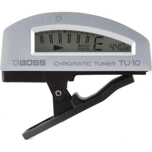 BOSS TU-10 Clip-On Chromatic Tuner夾式調音器