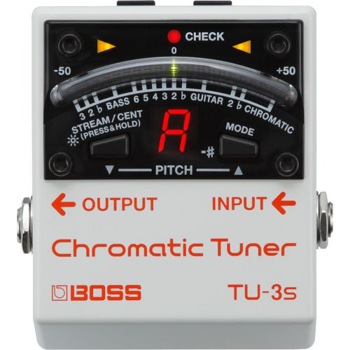 BOSS TU-3S Chromatic Tuner 半音階調音器