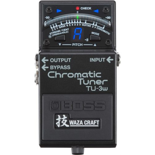 BOSS TU-3W Chromatic Tuner半音階調音器