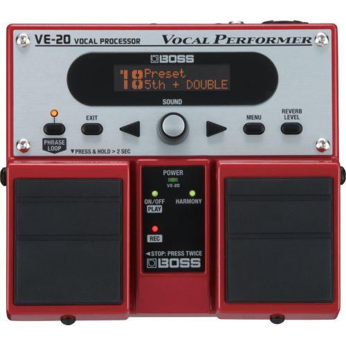 BOSS VE-20 Vocal Performer 人聲效果器