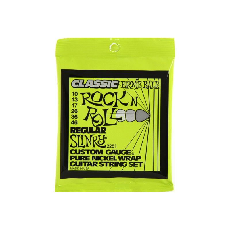 Ernie Ball Pure Nickel Regular Slinky 10-46