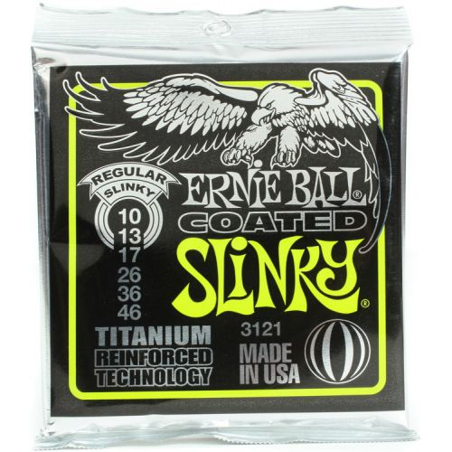 Ernie Ball Coated RPS 鈦包膜電吉他弦 10-46
