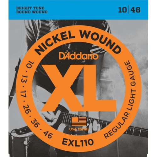 D'Addario EXL110 10-46 電吉他弦 / Nickel Wound