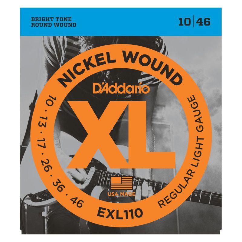 D'Addario EXL110 Nickel Wound EG10-46