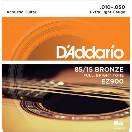 D'Addario EZ900 10-50 木吉他弦 85/15 Bronze