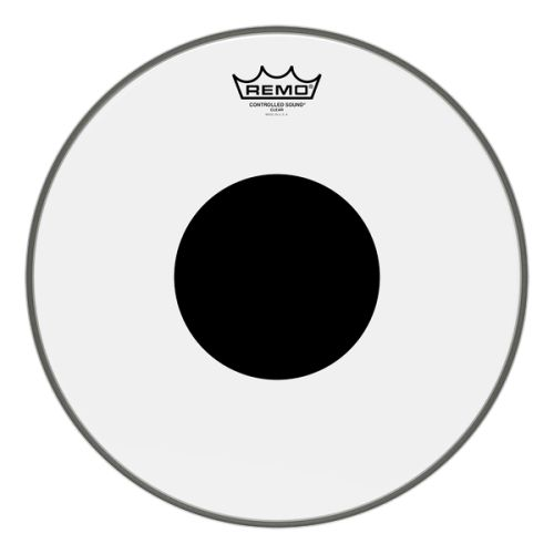 "Remo Drumheads Controlled Sound Clear Black Dot Bass/大鼓 打擊面鼓皮 ( 18"" 20' 22' 24' )"
