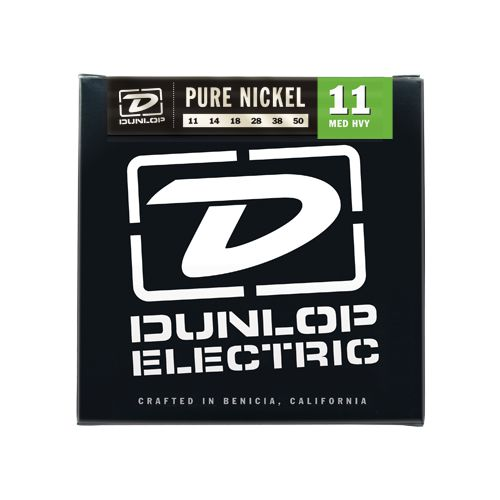 Dunlop 11-50 純鎳電吉他弦 / Pure Nickel DEK1150