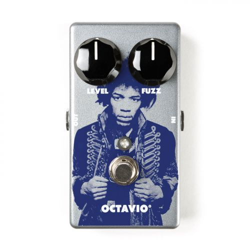 Dunlop Fuzz效果器 Jimi Hendrix Octavio Fuzz JHM6