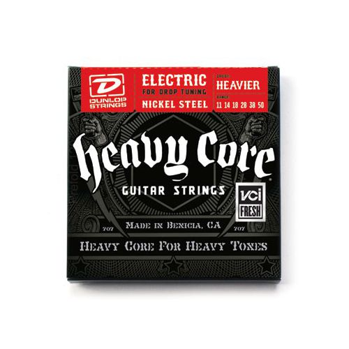 Dunlop 11-50 電吉他弦 Heavy Core DHCN1150