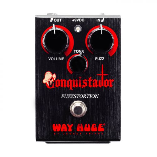 Dunlop Fuzz效果器 Way Huge Conquistador Fuzztortion WHE406
